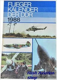 Image not found :Flieger Kalender der DDR 1988