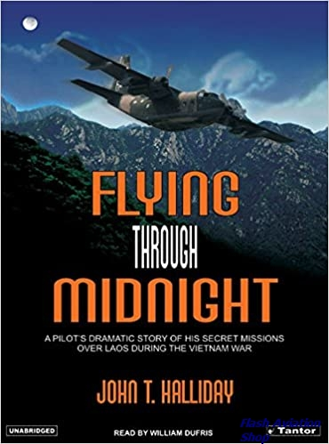 Image not found :Flying Through Midnight, A Pilot's Dramatic Story of His Secret Mi