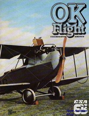 Image not found :OK Flight, Czechoslovak Airlines, CSA 65