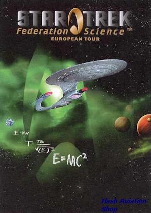 Image not found :Star Trek Federation Science European Tour