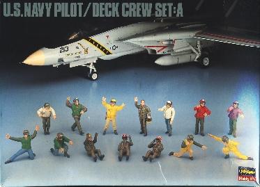 Image not found :US Navy Pilot Deck Crew (set A)