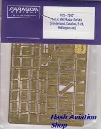 Image not found :A.S.V. Mk.II Radar Aerials