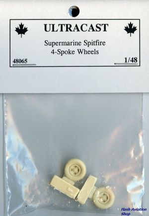 Image not found :Supermarine Spitfire 4-spoke wheels