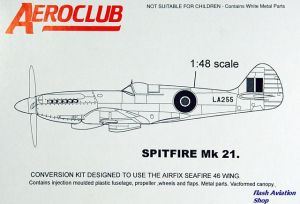 Image not found :Spitfire Mk.21 Conversion for Airfix Seafire 46/47