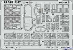 Image not found :C-47 interior S.A. Airfix