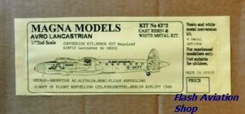 Image not found :Avro Lancastrian conversion for Airfix B I