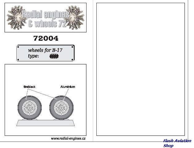 Image not found :Wheels for B-17