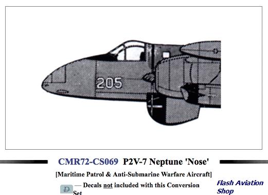Image not found :P2V-7 Neptune 'Nose' Gunnose