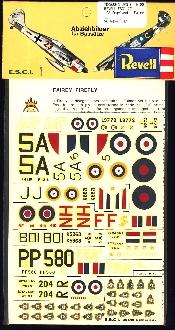 Image not found :Engeland - Fairey Firefly & Fairey Swordfish