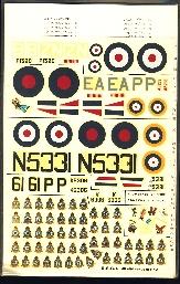 Image not found :Engeland - Handley Page Hampden & Avro Anson