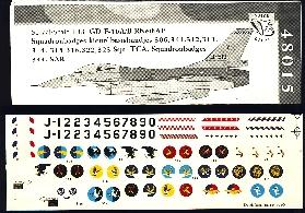 Image not found :F-16A/B squadron badges kleur/basisbandjes 306, 311, 312, 313, 314, 315, 316, 322, 323 sqn, TCA, 334 sqn & SAR badges