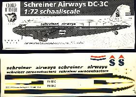 Image not found :DC-3 Schreiner Airways
