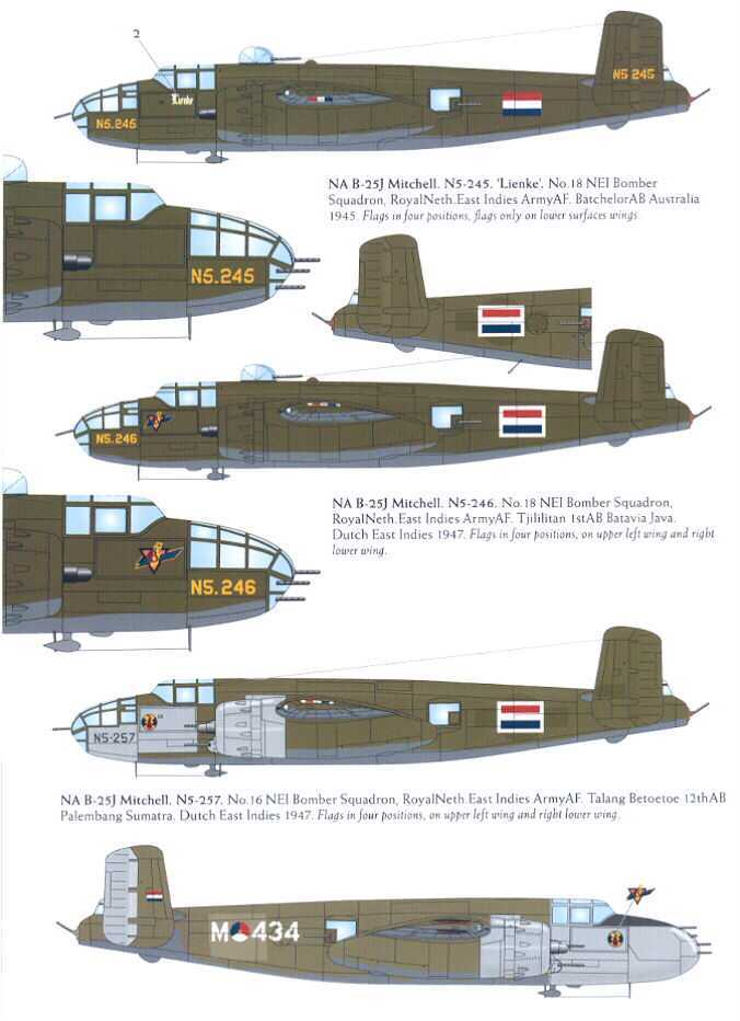 Image not found :B-25C/D/G/J Mitchell 16 and 18 sqn ML-KNIL, B-25G RNMFS 1943