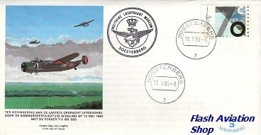 Image not found :Fokker T.V Eerste dag envelop