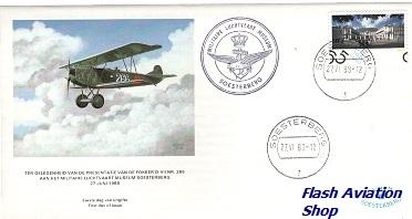 Image not found :Fokker D.VII Eerste dag envelop