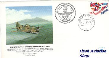 Image not found :Brewster Buffalo Eerste dag envelop