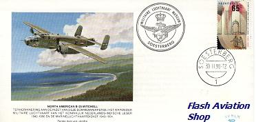 Image not found :B-25 Mitchell Eerste dag envelop