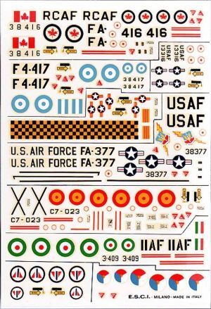 Image not found :F-5 various Air Forces