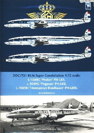 Image not found :KLM L-1049C Super Constellation PH-LKS, PH-LKE, L-1049H PH-LKN
