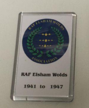 Image not found :RAF Elsham Wolds 1941 to 1947 Fridge-magnet