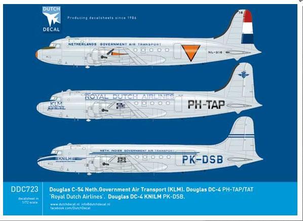 Image not found :Douglas C-54 NGAT, KLM, DC-4 KLM, DC-4 KNILM
