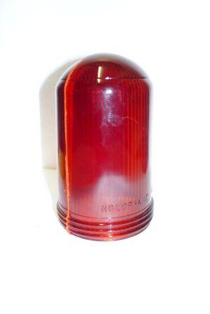 Image not found :Airfield taxi-light, half red/half orange (no light inside)