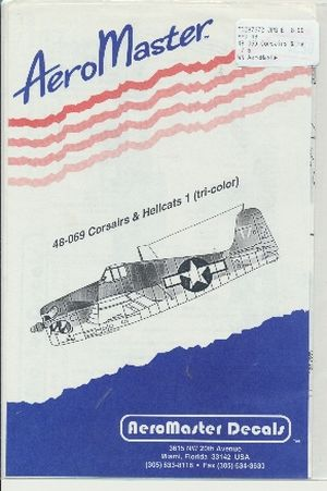 Image not found :Corsairs & Hellcats (tri-color)