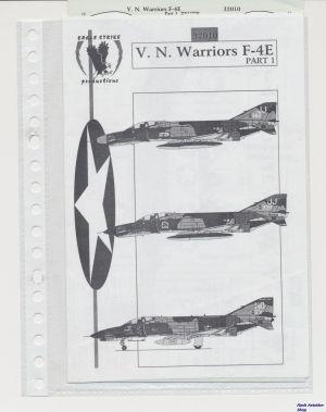 Image not found :V.N. Warriors F-4E part I