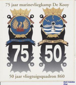 Image not found :75 Jaar Marinevliegkamp De Kooy, 75 - 50, 50 Jaar Vliegtuigsquadron 860