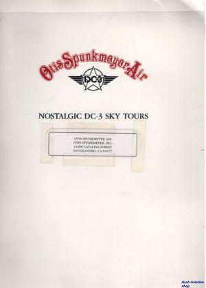 Image not found :Otis Spunkmeyer Air, Nostaligic DC-3 Sky Tours. Info map