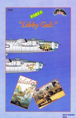 Image not found :Libby Gals Part 1, 1/72 B-24's with sexy noseart