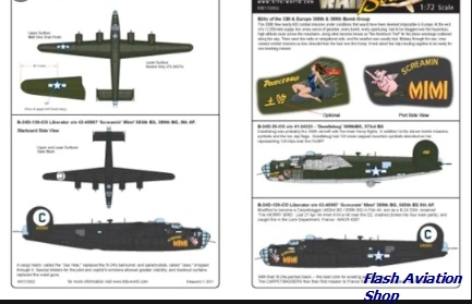 Image not found :War Birds B-24D Liberator CBI - Europe