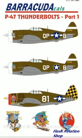 Image not found :P-47 Thunderbolts - Part 1