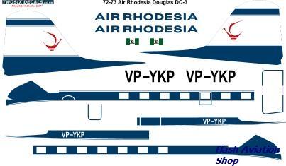 Image not found :Douglas DC-3 (Air Rhodesia)