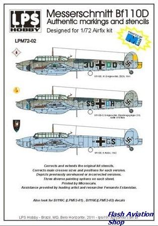Image not found :Messerschmitt BF.110D