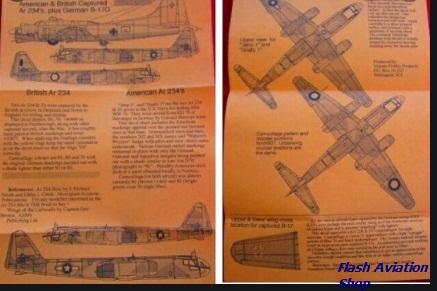 Image not found :American & British Captured Ar 234's, plus German B-17G