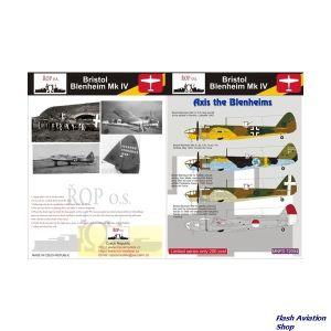 Image not found :Bristol Blenheim MKIV: Blenheims in Axis Service