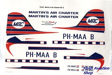 Image not found :Martin's Air Charter DC-3