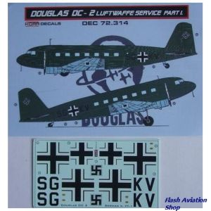 Image not found :Douglas DC-2 Luftwaffe Part I