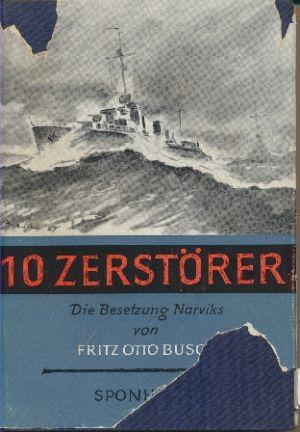 Image not found :10 Zerstorer, die Besetzung Narviks