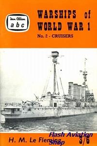Image not found :Warships of World War 1, No.2 - Cruisers