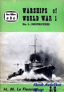 Image not found :Warships of World War 1, No.3 - Destroyers