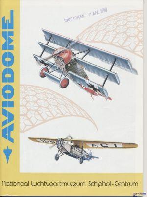 Image not found :Aviodome, Nationaal Luchtvaartmuseum Schiphol-Centrum (1990)