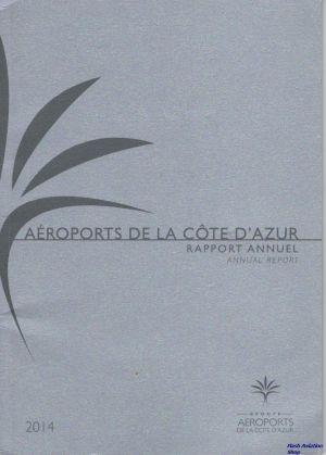 Image not found :Aeroports de la Cote d'Azur, Rapport Annuel 2014