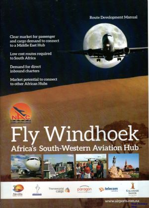 Image not found :Fly Windhoek, Africa's South-Western Aviation Hub