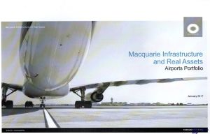 Image not found :Macquarie Infrastructure and Real Assets, Airports Portfolio