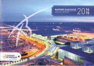 Image not found :Rapport d'Activite Annual Report 2014/15 Aeroport de Bordeaux)