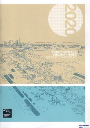 Image not found :Brisbane Airport 2020, Flight Path and Aircraft Nose Information