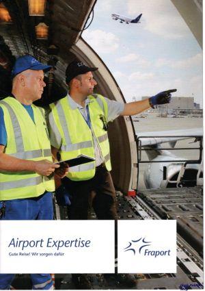 Image not found :Airport Expertise, Gute Reise ! Wir Sorgen dafur, Fraport