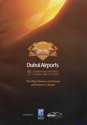 Image not found :Dubai Airports, 50 Years, Celebrating the New Golden Age of Travel